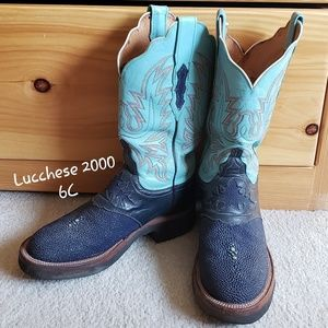 Lucchese 2000 Women's Stingray Boots